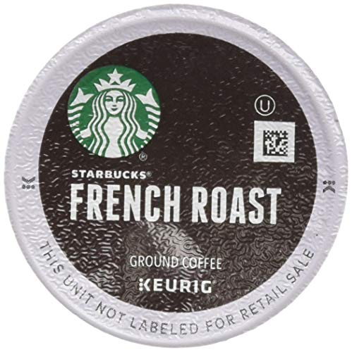 Roast French Pods - Starbucks French Roast Dark Coffee, 72 K-Cups, (3 Pack of 24 k-cups)