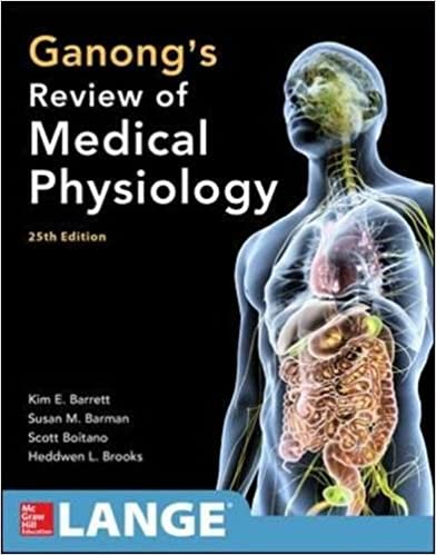 ganong review of medical physiology 25th edition