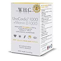 UNOCARDIO 1000 + Vitamin D3 by WHC Health Consulting Products