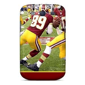 SherieHallborg Samsung Galaxy S3 Perfect Hard Phone Cover Support Personal Customs Vivid Washington Redskins Series [kDG18079khBx]