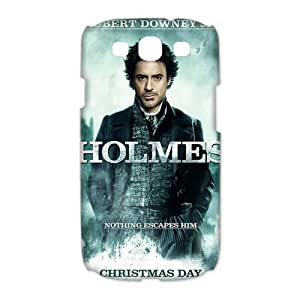 Custom Sherlock Hard Back Cover Case for Samsung Galaxy S3(3D) OE-858