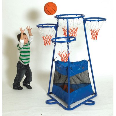 Basketball Stand with Storage Bag - 4 Rings