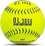 Franklin Sports Tournament Play Slow Pitch Softball, 12&
