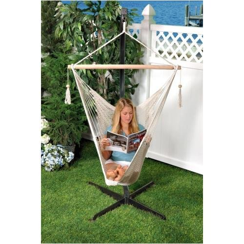 Medium image of amazon     bliss hammocks bhc 412nt island rope hammock chair   garden  u0026 outdoor
