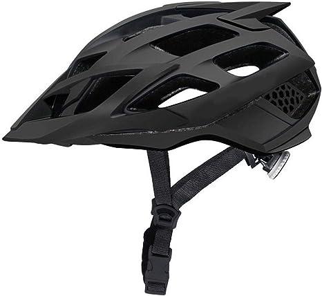 XYBB Casco Bicicleta Casco de Bicicleta MTB con Gafas de Sol ...