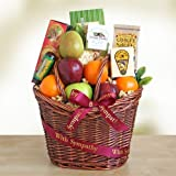 Sympathy Fruit Gift Basket