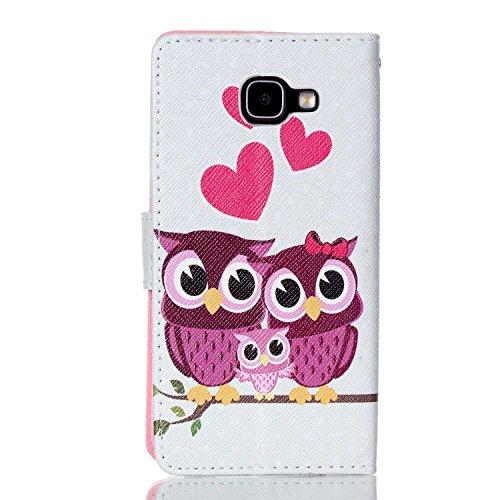 A-6 Portemonnaie Flip PU Cuir Housse Coque Étui Etui pour Samsung Galaxy A5 2016 Avec Carte Tenant Fente Supporter Dooki Galaxy A5 2016 Coque