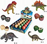 20 pcs 3D Dinosaur Puzzle Egg Box Set DIY Assorted Different Styles Dino Egg Set Early Educational Kids Toy