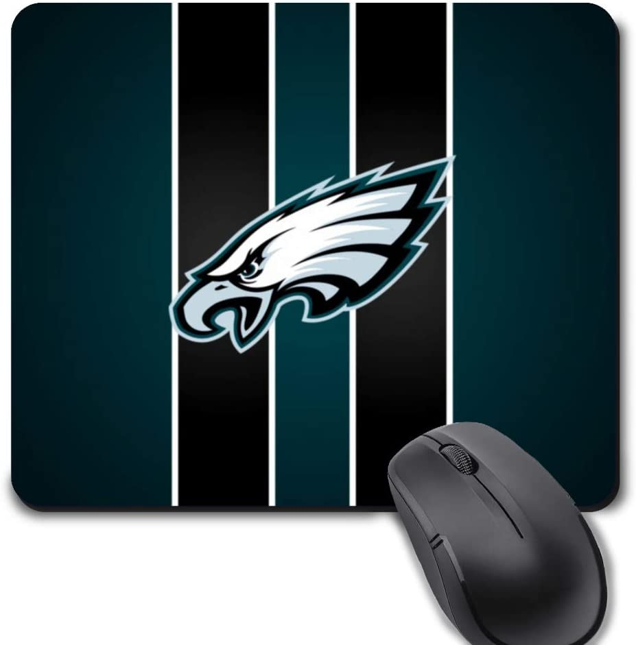 Gaming Mouse Pad,Life Needs Sport Mousepad with Non-Slip Rubber Base for Laptop Computer Desktop Mat - Philadelphia Football Team
