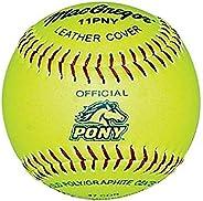 MacGregor Pony Fast Pitch Softball, 11-inch (One Dozen)