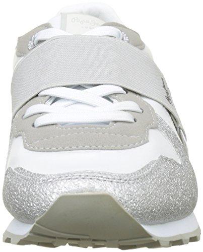 Elastic Zapatillas Jeans Mujer W Verona White Pepe Blanco t78wqvqx