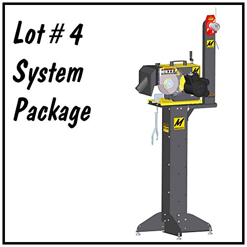 Lot 4 Lawn Mower Blade Service System by Magna-Matic