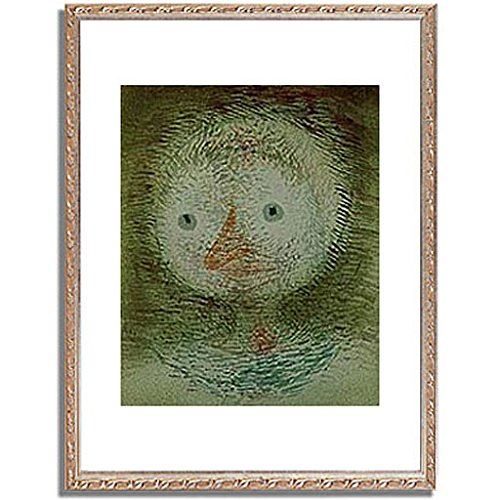 パウルクレー 「Maske dummes Madchen. 1928. 」 インテリア アート 絵画 壁掛け アートポスター フレーム:装飾(銀) サイズ:XL (563mm X 745mm) B00PB8KERA 4.XL (563mm X 745mm)|5.フレーム:装飾(銀) 5.フレーム:装飾(銀) 4.XL (563mm X 745mm)