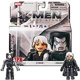 Marvel MiniMates Series 14 XMen 3 The Last Stand Mini Figure 2Pack Storm Colossus