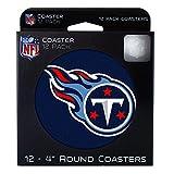 NFL Tennessee Titans Pulpboard Coasters, Set of 12