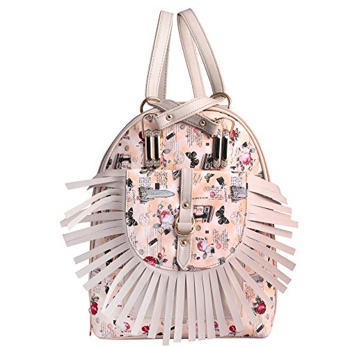 Classic Fashions Latest Trend Pu Multi Color Backpack Women's and Girl's