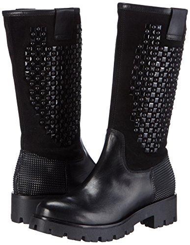Shoes Noir Pin Rangers Tosca Bottes Femme Blu c99 P8Bq5xw6C