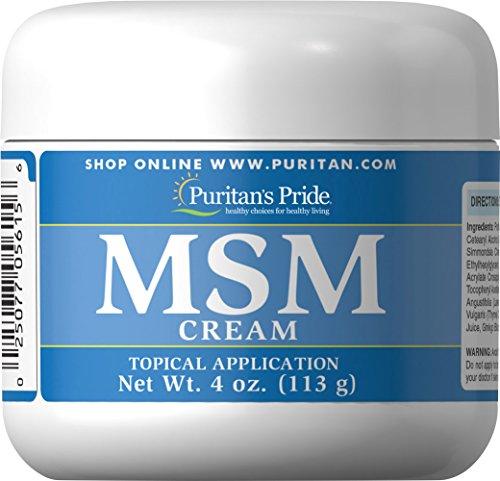 Pride MSM crème-4 oz crème de Puritan's