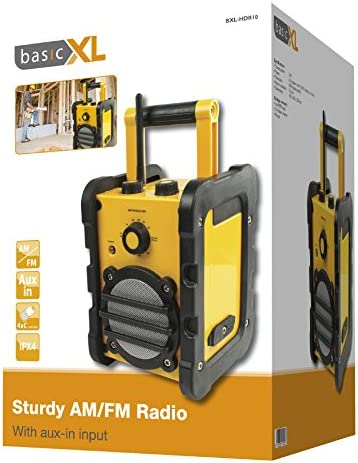 BasicXL Sturdy AM//FM Radio