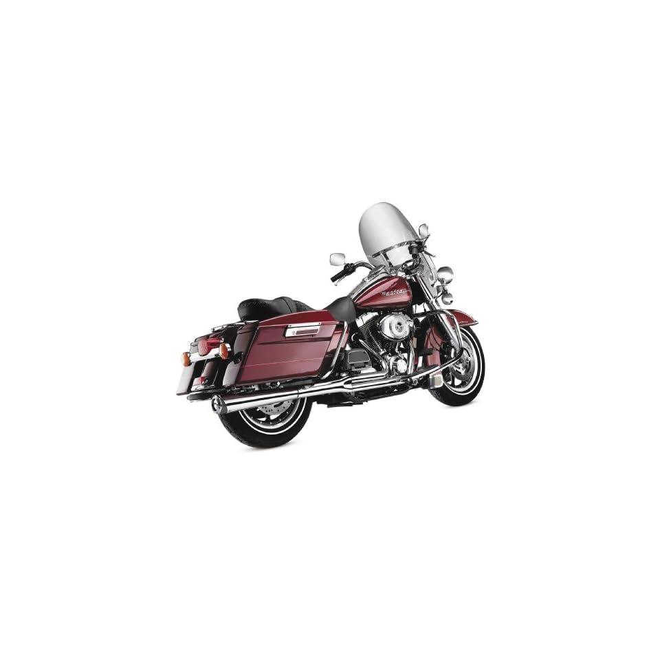 2012 Harley Davidson FLS Softail Slim 2 Into 1 Supermeg Exhaust System   Chrome, Manufacturer SuperTrapp, 21 SUPERMEG SYSTEM CHR Automotive