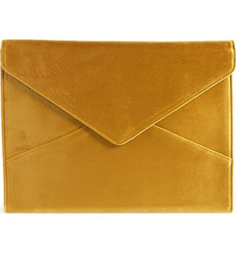 "Clutch Notebook Carrying Case - Sonix Velvet Padded Envelope Case for Macbook Sleeve/Laptop Clutch (13"") CANARY VELVET"