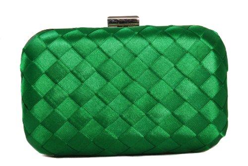 Vivid - Cartera de mano para mujer verde verde One Size
