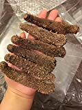 Alaska Red Dried Sea Cucumber-natural Sun Dried(Medium)1lb, Grade AAA