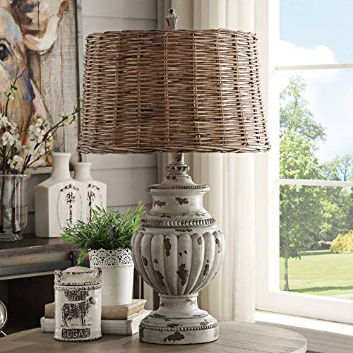 Crestview Collection Adeline French Blue Table Lamp (Table Lamps Farm Style)