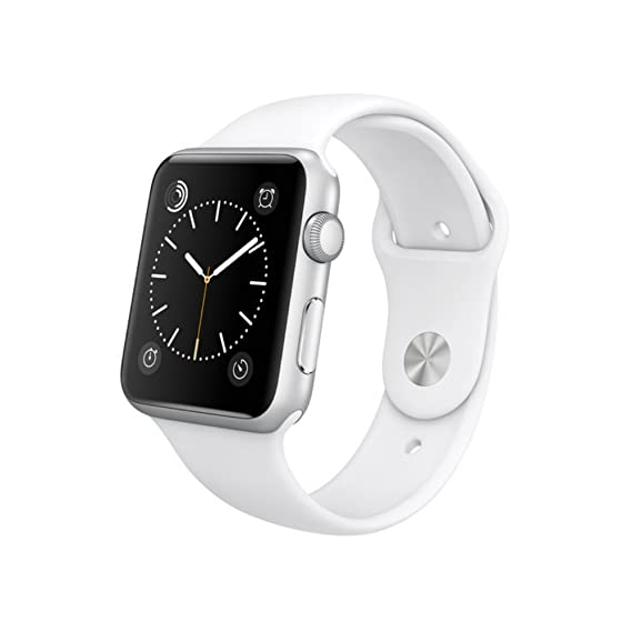 6ad097c03cf Amazon.com  Apple Watch Series 1 Smartwatch (Silver (Stainless Steel ...