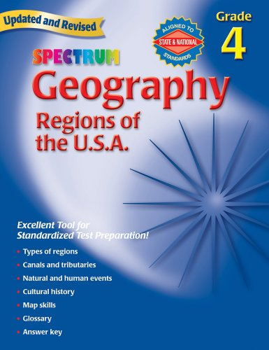 Spectrum Geography, Grade 4: Regions of the ()