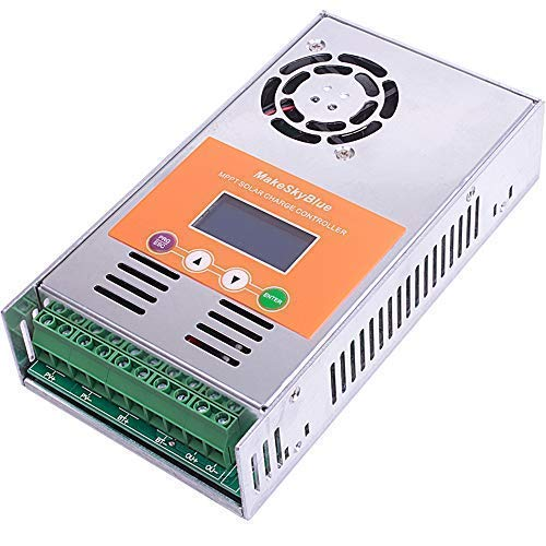 Amazon.com : MakeSkyBlue MPPT Solar Charge Controller 30A Solar Charge Regulator LCD Display for 12V 24V 36V 48V Acid Gel Sealed Flooded Lithium Battery ...