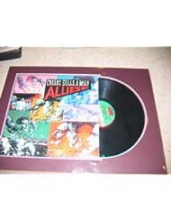 "* CROSBY, STILLS and NASH * signed ""Allies"" album cover display / UACC Registered Dealer # 212"