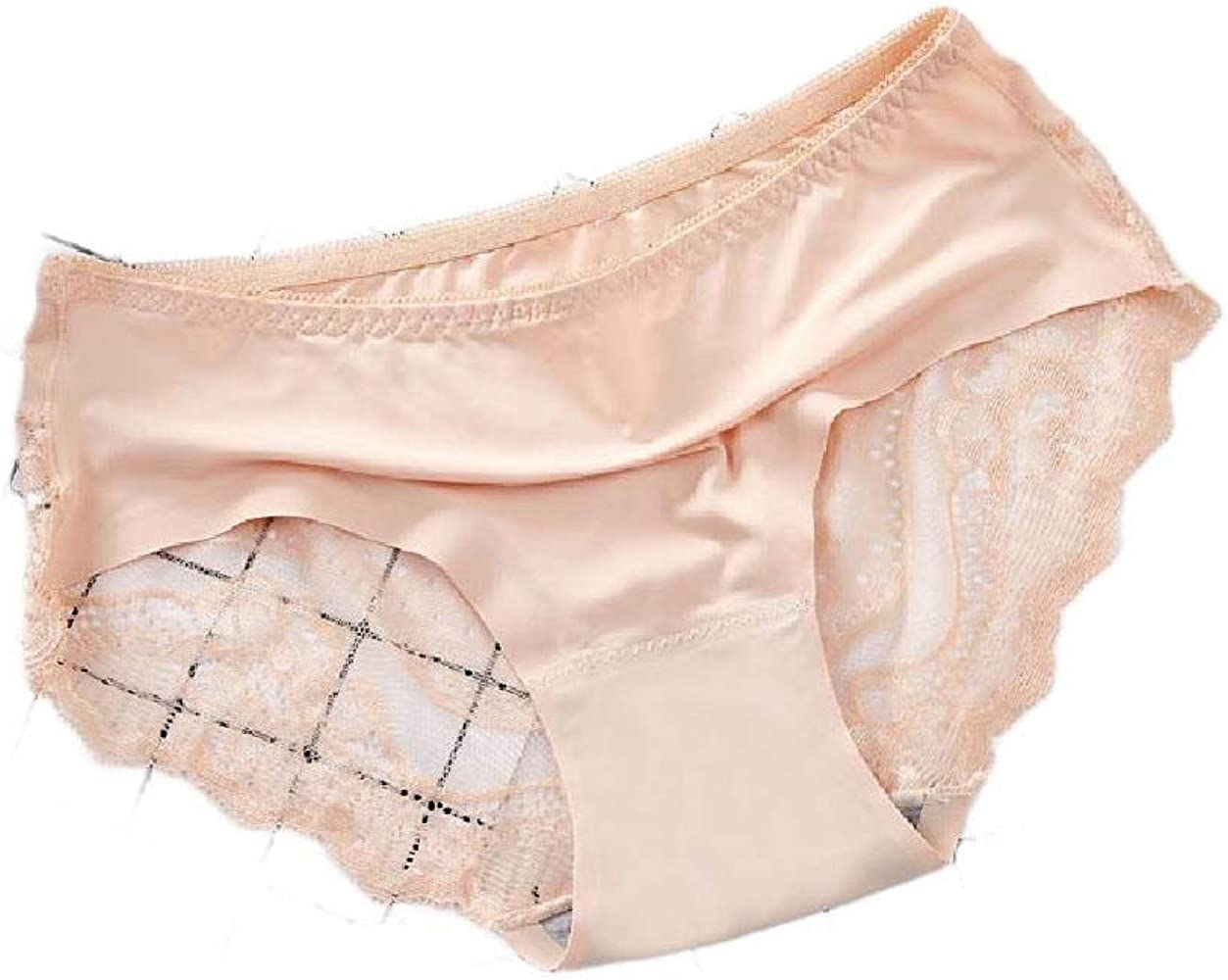 CuteRose Womens Breathable Lace Everyday 5 Pack Middle Waist Lingerie Underwear AS1 S: Amazon.es: Ropa y accesorios