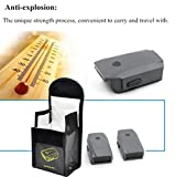 2Pcs Lipo Battery Safe Bag for DJI Mavic