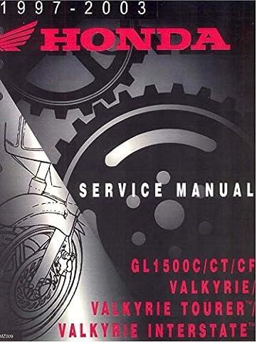 Honda Valkyrie Tourer, GL1500C /CT /CF, 1997-2003 Repair Service Manual CD/DVD/PDF (Macintosh Repair)