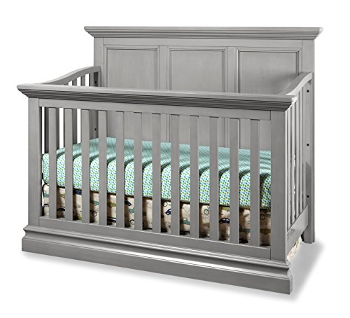 Westwood Design Pine Ridge 4 in 1 Panel Convertible Crib, Cloud