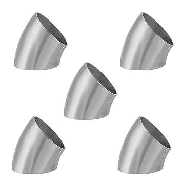 Codo de tubo - 5 piezas de soldadura de soldadura de codo ...