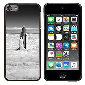 For Apple iPod Touch 6 6th Touch6 Case , Naturaleza Hermosa Forrest Verde 137- Diseño Patrón Teléfono Caso Cubierta Case Bumper Duro Protección Case Cover Funda