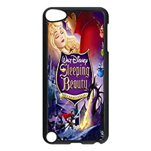 Unique Design -ZE-MIN PHONE CASE FOR Ipod Touch 5 -Sleeping Beauty-Maleficient Pattern 9