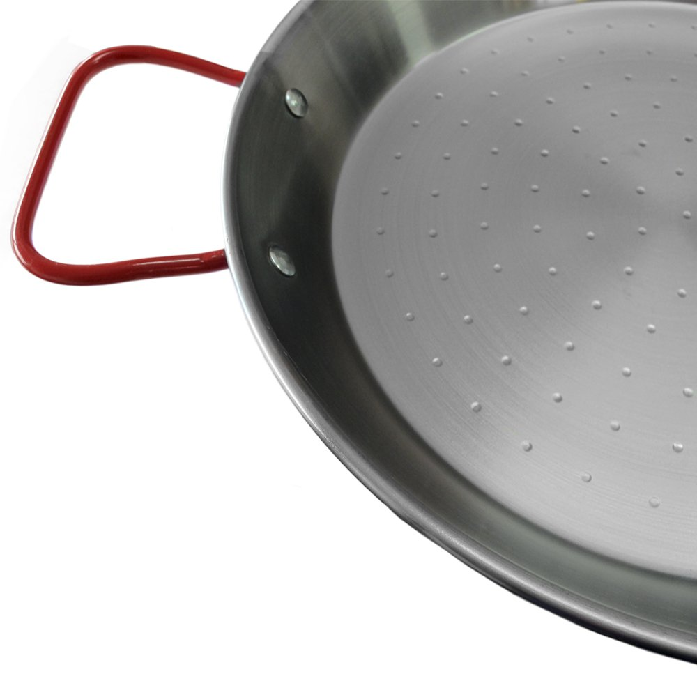 12in/30cm Steel Paella Pan