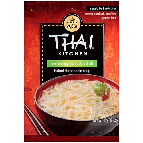 Thai Kitchen Gluten Free Lemongrass & Chili Instant Rice Noodle Soup, 1.6 oz (Pack of ()