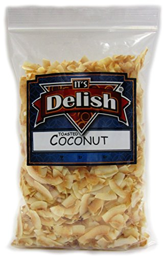 Toasted Natural Coconut Chips Unsweetened by Its Delish, 3 lbs