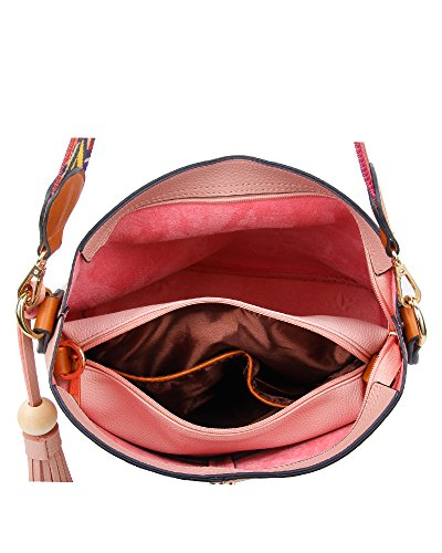 Women's Blue Top handle Handle Size Print Handbag Bag amp; Small Messeger Hobo Large 30x25x14cm Aztec 2in1 Purse aqwBaYr