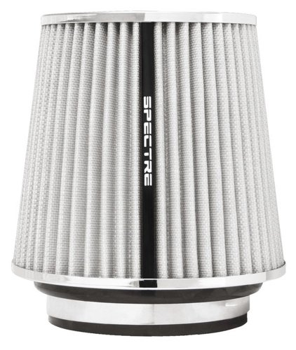 Spectre Performance 8138 Universal Clamp-On Air Filter: Round Tapered; 3 in/3.5 in/4 in (102 mm/89 mm/76 mm) Flange ID; 6.719 in (171 mm) Height; 6 in (152 mm) Base; 4.75 in (121 mm) Top by Spectre Performance (Image #7)