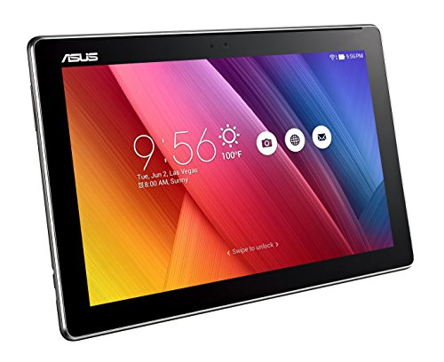 """ASUS ZenPad 10 2 10.1"""" WXGA IPS Display (1280 x 800) with ASUS TruVivid technology for better visual experience Powered by Quad Core 1.3 GHz, 64 bit MediaTek MTK 8163B processor Easily handle and speed up productivity with 4680 mAh battery, 2GB RAM, 16GB storage"""