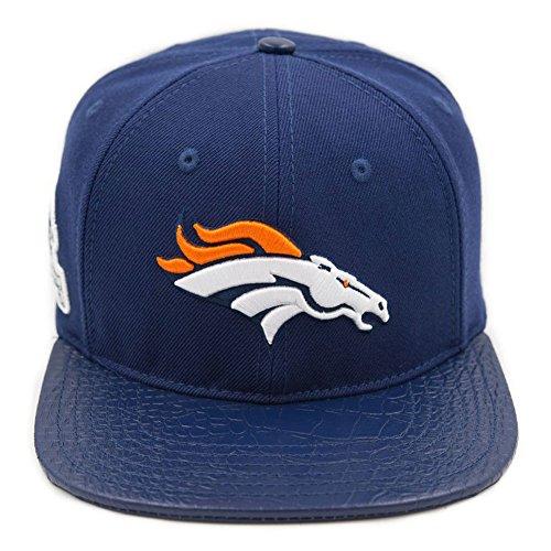 Pro Standard Men's NFL Denver Broncos Logo Buckle Hat W/Pins Navy Blue -