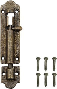 Pestillo de cerradura para puerta corredera, 1 pieza: Amazon.es: Bricolaje y herramientas