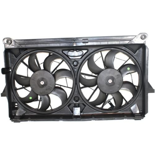 MAPM Premium SILVERADO P/U 07-13 RADIATOR FAN SHROUD ASSEMBLY, w/Extra Duty Cooling by Make Auto Parts Manufacturing