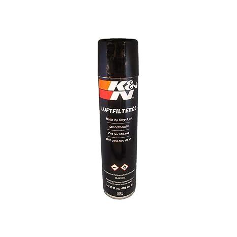 Amazon.com: K&N filtro de aire y aceite, 8 onzas, Negro ...