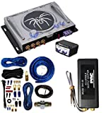 Soundstream BX-15 Bass Maximizer and Bass Restoration Processor With PAC SNI-35 Variable LOC Line Out Converter And 4 Gauge AMP Kit Cache Bundle